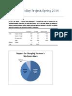 2014 Vermont Castleton Poll Results