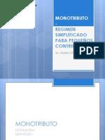 MONOTRIBUTO - caracteristicas