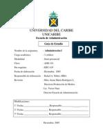 Administracion I (Unicaribe)