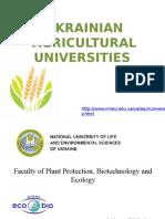 Agricultural Un. Ies