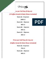 Prices Meetup PDF