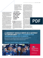 Chronicle of Higher Education Diversity Ad