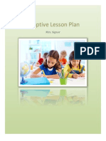 adaptive lesson plan pdf