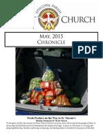 Christ Church Eureka May Chronicle 2015