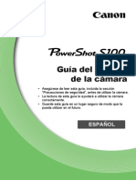 PowerShot S100 Camera User Guide ES v1.0