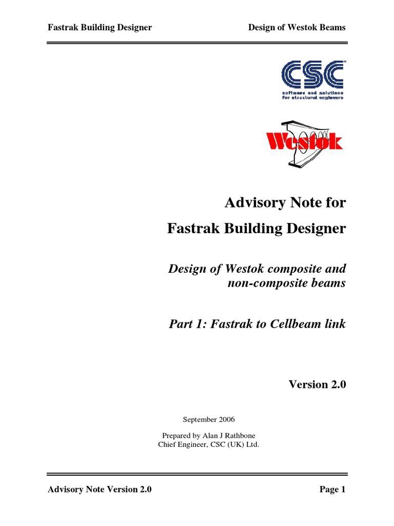 Westok Cellular Beam Design Software - lostinsurance