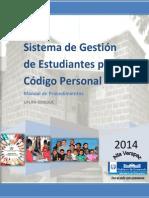 Manual Codigo Personal ACTUALIZADO