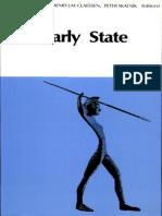 The Early State Henri J M Claessen Peter Skalnik Mouton Publishers 1978