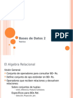 Algebra Relacional BASES DATOS2