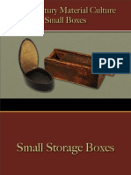 Storage - Small Boxes
