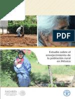 Estudio Sobre El Envejecimiento de La Población Rural en México