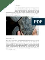 Descripcion de Rocas de Campo 2