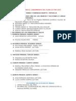 Programa Para El Lanzamiento Del Plan Lector 2015