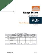 BHO-Waste Management Plan REV-2