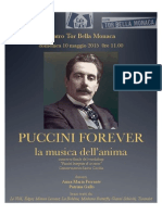 Locandina Puccini Forever