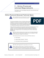 Pearson VUE Online Proctored Advanced Technical Requirements