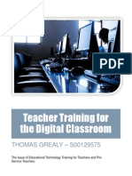 digital classroom report