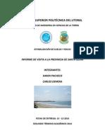 Informe Santa Elena