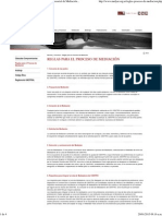 Reglas Para El Proceso de Mediación - Centro Empresarial de Mediación y Arbitraje