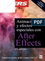 Animación y Efectos Especiales Con After Effects