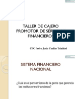 Taller Cajero Promotor - 2