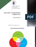 Deq 1006 - Engenharia Ambiental (Conceitos Gerais)