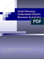 07. Audit Planning-Understand Client's Business 2010