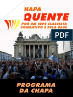 Programa 5CHAPA QUENTE