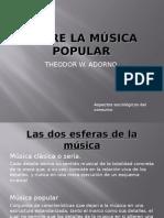 Sobre la música popular.odp