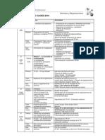 Cronograma Sistemas y Organizaciones 2010