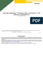 Nbu 7x Software Compatibilityl