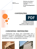 Contenção Seminario Final