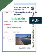Diseño de Canales y Proceso Constructivo (Reparado)