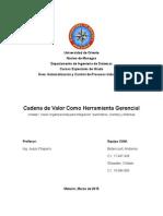 CAM - UNIDAD 1 - Tema 7 - Cadena de Valor Como Herramienta Gerencial