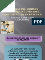 Importancia Del Cuidado de Enfermeria Como Base Filosofica Guia 6