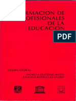Formacin de profesionales de la educacin.pdf