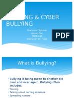 bullying & cyber bullying