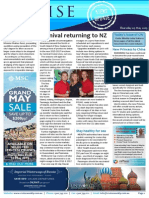 Cruise Weekly for Thu 07 May 2015 - Carnival back to NZ, River capacity glut, Venice, Princess, APT and much more