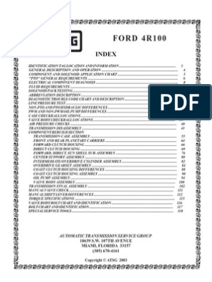 4R100   Manual Transmission   Transmission (Mechanics)