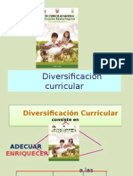 Diversificación Curricular Diapositivas