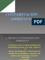 Contamiacion Ambiental 1