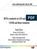 CORM 2009 - IESNA Standards on LED and SSL LM79LM80 and Future Standards CORM 2009 Y Ohno