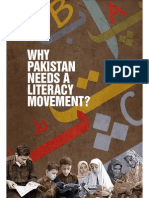 Why Pakistan Needs Literacy Movement