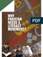 Why Pakistan Needs Literacy Movement