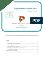 Estandares Para La Educacion Básica