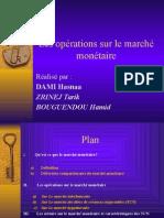 Les Opérations Sur Le Marché Monétaire