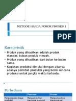 Metode Harga Pokok Proses 1