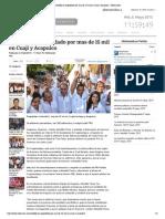 27-04-15 Astudillo Es Respaldado Por Mas de 15 Mil en Cuaji y Acapulco