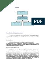 Diagrama de La Empresa: