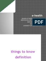 BHP K7 e-Health